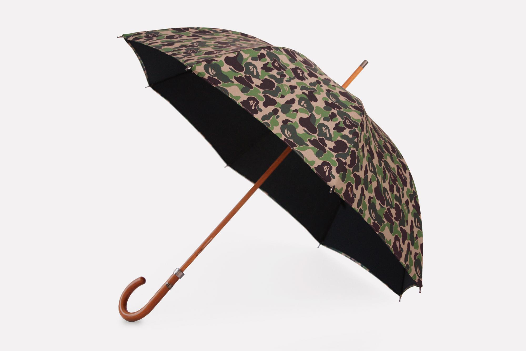 Mr. Bathing Ape x London Undercover ABC Camo Umbrella