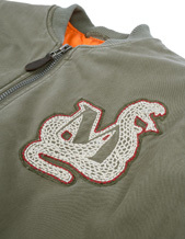 Maharishi Year Of The Snake Fitted Ma-1 Jacket