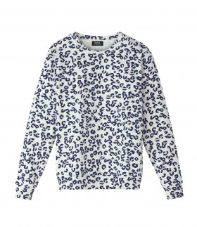 APC Leopard print simple sweatshirt (2)